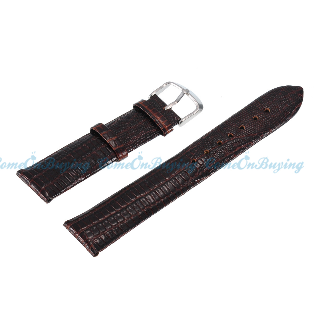 new quality unisex snake genuine leather coffee brown
